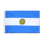 Argentinien - Hohlsaum Flagge ECO 60 x 90 cm
