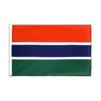 Gambia - Sleeved Flag ECO 2x3 ft