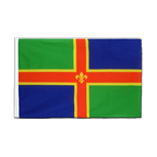 Lincolnshire - Sleeved Flag ECO 2x3 ft