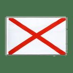 St. Patrick cross - Sleeved Flag ECO 2x3 ft