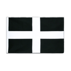 St. Piran Cornwall - Hohlsaum Flagge ECO 60 x 90 cm
