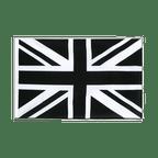 Union Jack black - Sleeved Flag ECO 2x3 ft