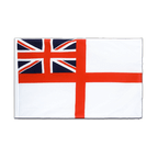 Naval Ensign of the White Squadron - Sleeved Flag ECO 2x3 ft