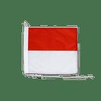 Drapeau pour bateau Soleure - 30 x 30 cm