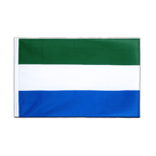 Sierra Leone - Sleeved Flag ECO 2x3 ft