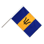 Barbados - Hand Waving Flag ECO 2x3 ft
