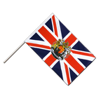 Great Britain with crest - Hand Waving Flag ECO 2x3 ft