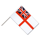 Drapeau Naval Ensign of the White Squadron Hampe ECO - 60 x 90 cm