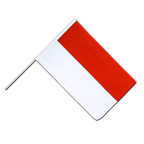 Indonesia - Hand Waving Flag ECO 2x3 ft
