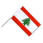 Lebanon - Hand Waving Flag ECO 2x3 ft