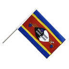 Swaziland - Hand Waving Flag ECO 2x3 ft