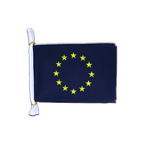 "European Union EU - Mini Flag Bunting 6x9"", 3 m"