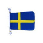 "Sweden - Mini Flag Bunting 6x9"", 3 m"