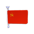 "USSR Soviet Union - Mini Flag Bunting 6x9"", 3 m"
