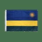 Ruanda - Hissfahne VA Ösen 60 x 90 cm