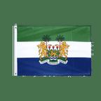 Sierra Leone - Hissfahne VA Ösen 60 x 90 cm