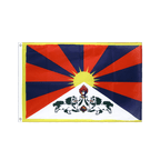 Tibet - Hissfahne VA Ösen 60 x 90 cm