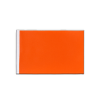 Drapeau en satin Orange - 15 x 22 cm