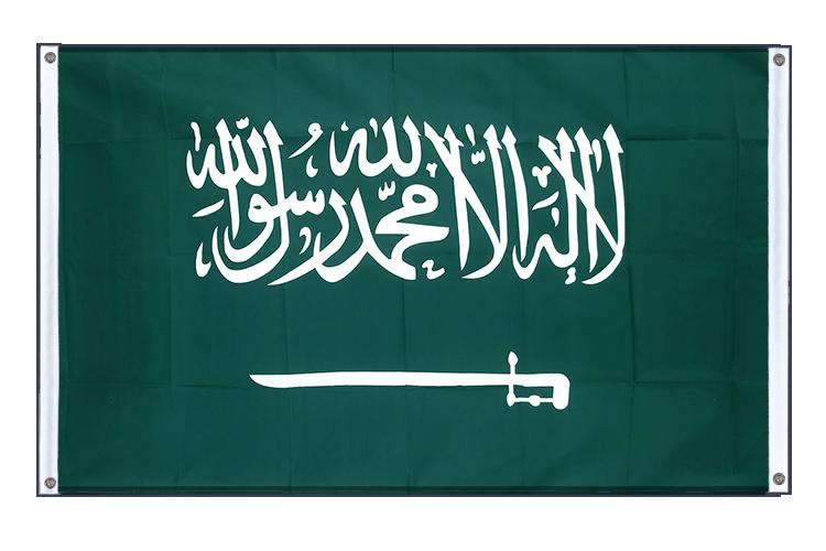 banni re arabie saoudite oeillets 90 x 150 cm paysage. Black Bedroom Furniture Sets. Home Design Ideas