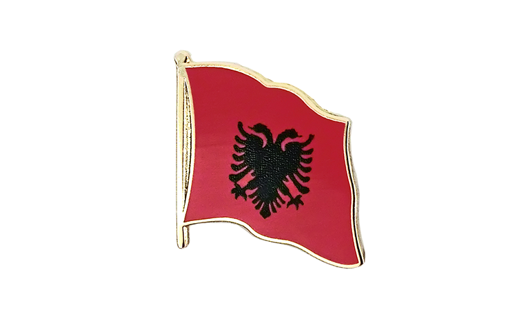 Flag Lapel Pin Albania