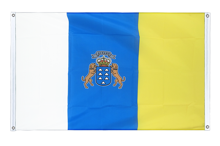 Banner Flag Canaries - 3x5 ft (90x150 cm), landscape