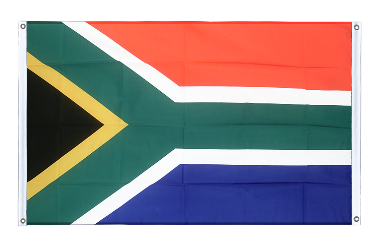 Banner Flag South Africa - 3x5 ft (90x150 cm), landscape