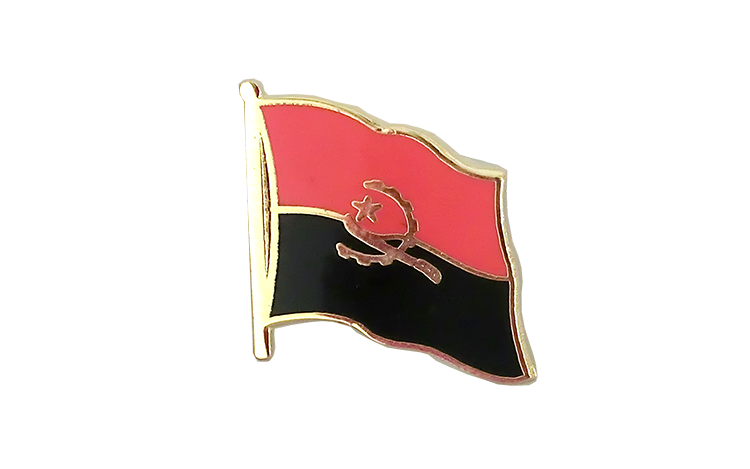 Flag Lapel Pin Angola