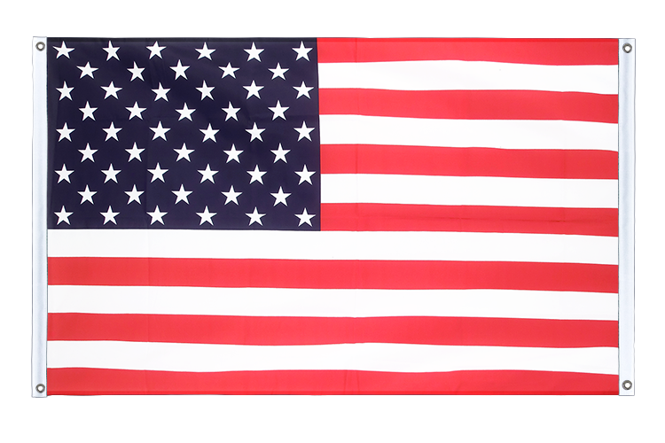 Banner Flag USA - 3x5 ft (90x150 cm), landscape