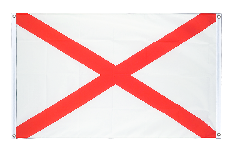 Banner Flag Alabama - 3x5 ft (90x150 cm), landscape