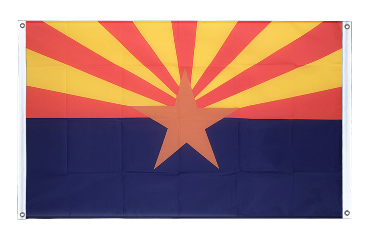 Banner Flag Arizona - 3x5 ft (90x150 cm), landscape