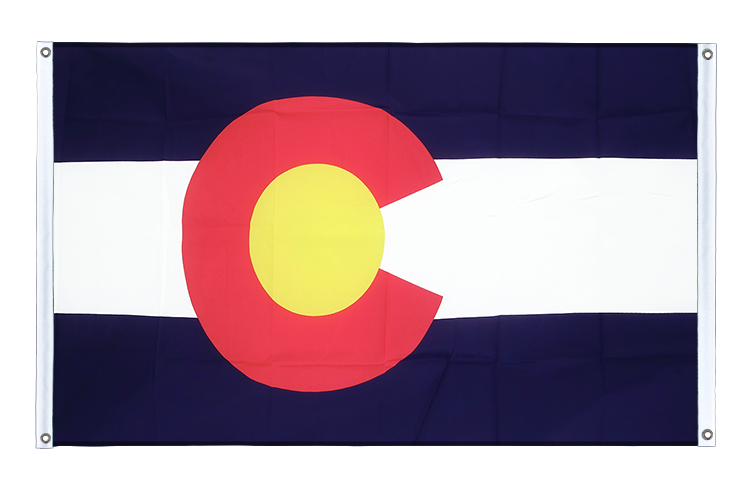 Banner Flag Colorado - 3x5 ft (90x150 cm), landscape