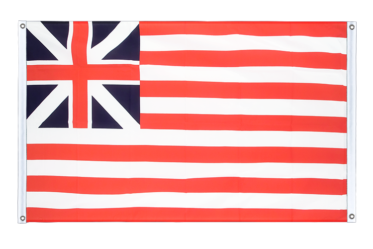Banner Flag USA Grand Union 1775 - 3x5 ft (90x150 cm), landscape