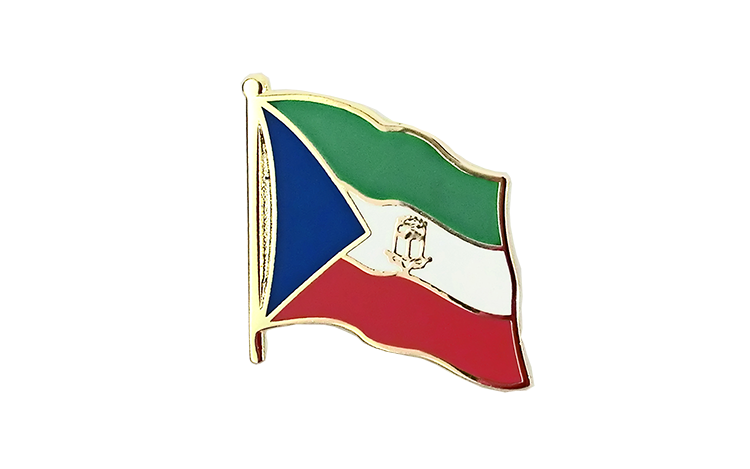 Equatorial Guinea Flag Lapel Pin