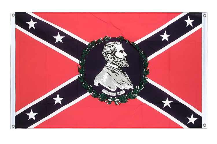 USA Southern United States General Lee Grommet Banner Flag - 3x5 ft (90x150 cm), landscape