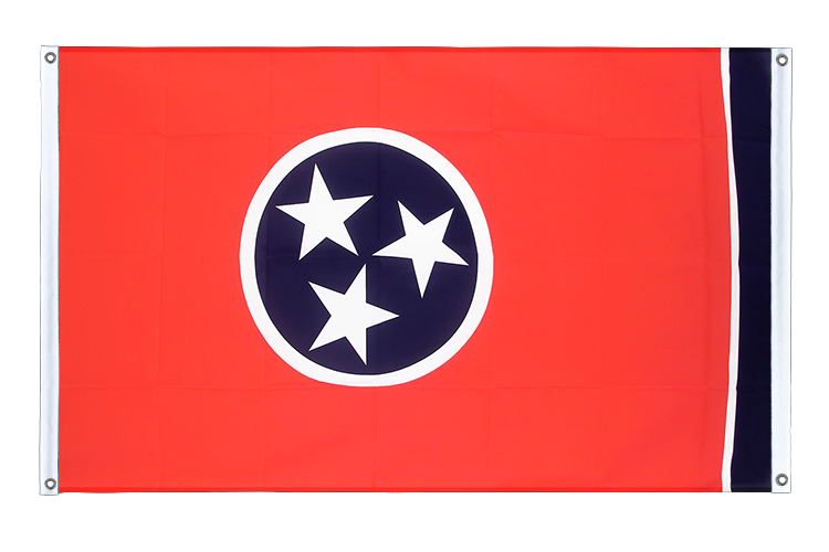 Banner Flag Tennessee - 3x5 ft (90x150 cm), landscape