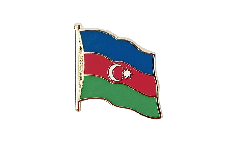 Flag Lapel Pin Azerbaijan