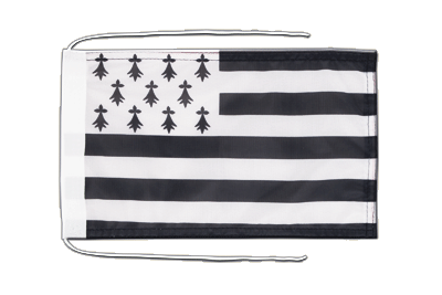 Flag with ropes Brittany - 8x12""
