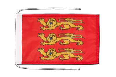 Flag with ropes Upper Normandy - 8x12""