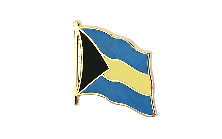 Flag Lapel Pin Bahamas