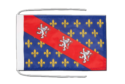 Flag with ropes County of La Marche - 8x12""