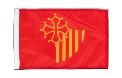 Small Languedoc-Rousillon Flag - 12x18""