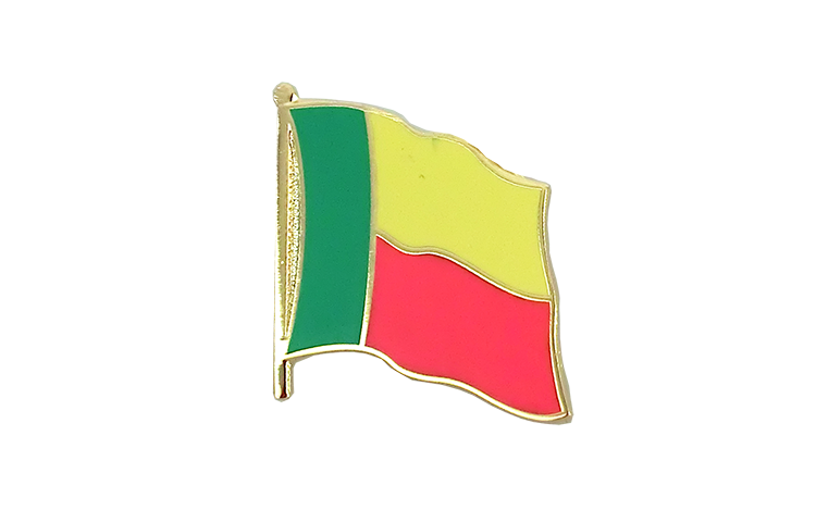 Flag Lapel Pin Benin