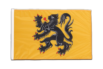 Sleeved Flag PRO Belgium Flanders - 2x3 ft
