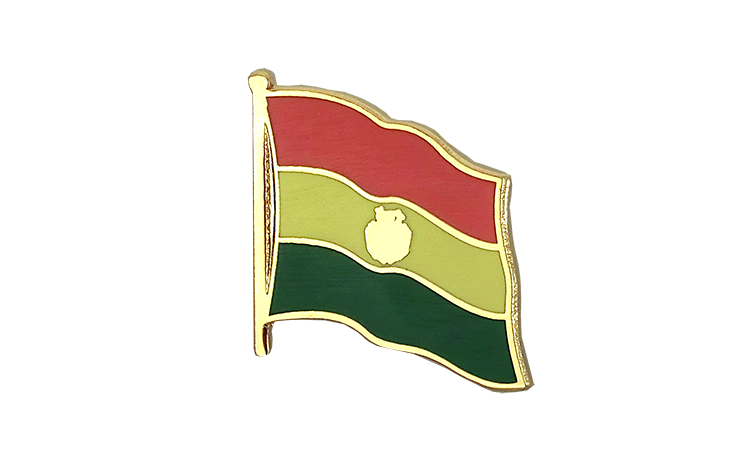 Flag Lapel Pin Bolivia
