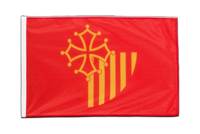 Sleeved Flag PRO Languedoc-Rousillon - 2x3 ft