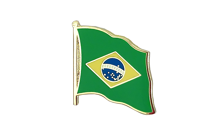 Flag Lapel Pin Brazil