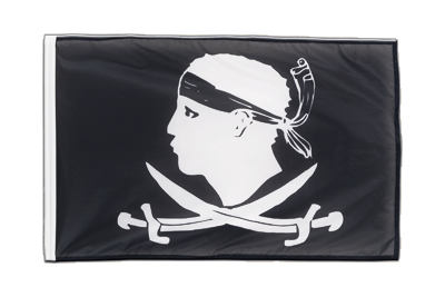 Sleeved Flag PRO Pirate Corsica - 2x3 ft