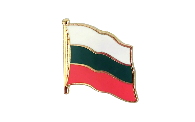 Flag Lapel Pin Bulgaria