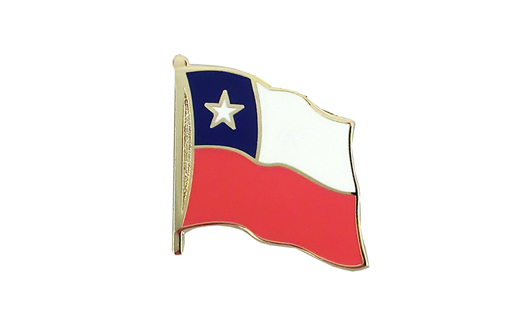 Chile - Flaggen Pin 2 x 2 cm