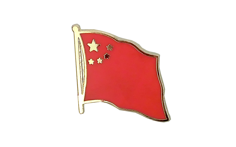 Flag Lapel Pin China